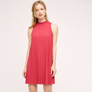 ANTHROPOLOGIE Tracy Reese Seaglass Swing Dress L